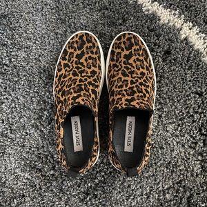 Leopard Steve Madden Slip-On